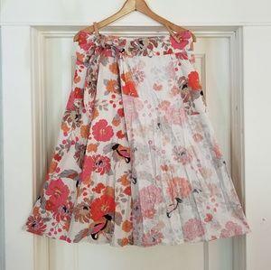 Dresses & Skirts - Beautiful Linen Blend Wrap Style Skirt